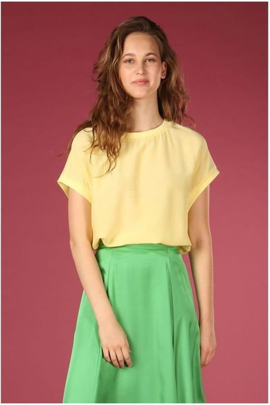 Co'Couture Blouse New Norma Jaune