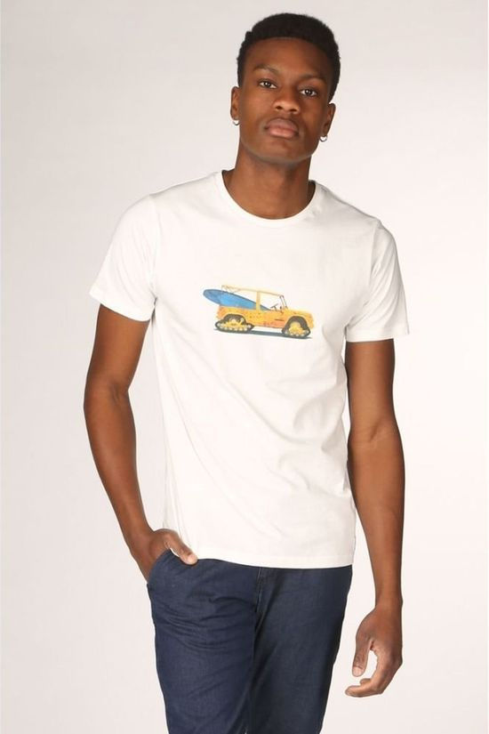 Bask in the Sun T-Shirt Mehari Wit