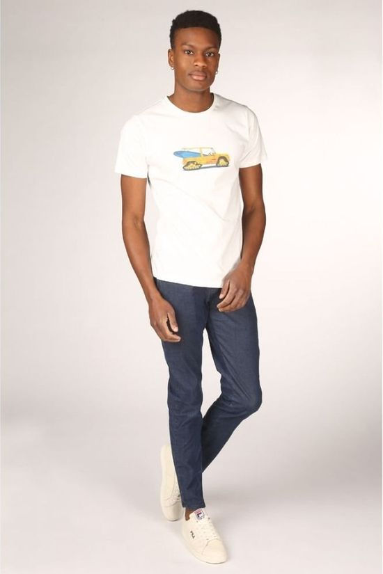 Bask in the Sun T-Shirt Mehari Blanc