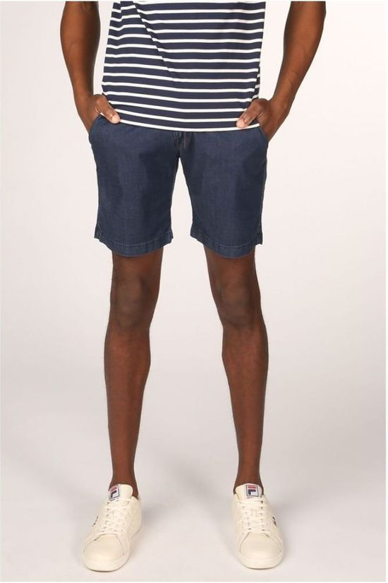 Bask in the Sun Short Mayarco Blauw (Jeans)