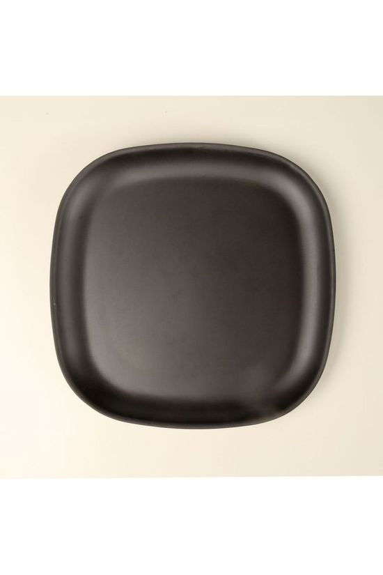 Ekobo Servies Plat Bord Gusto Black Large Zwart