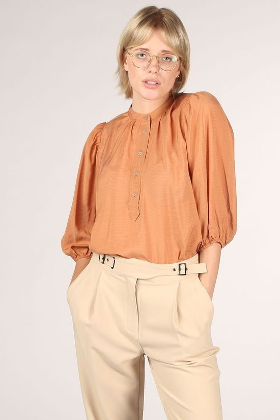 Co'Couture Blouse Pauline Summer Middenroze