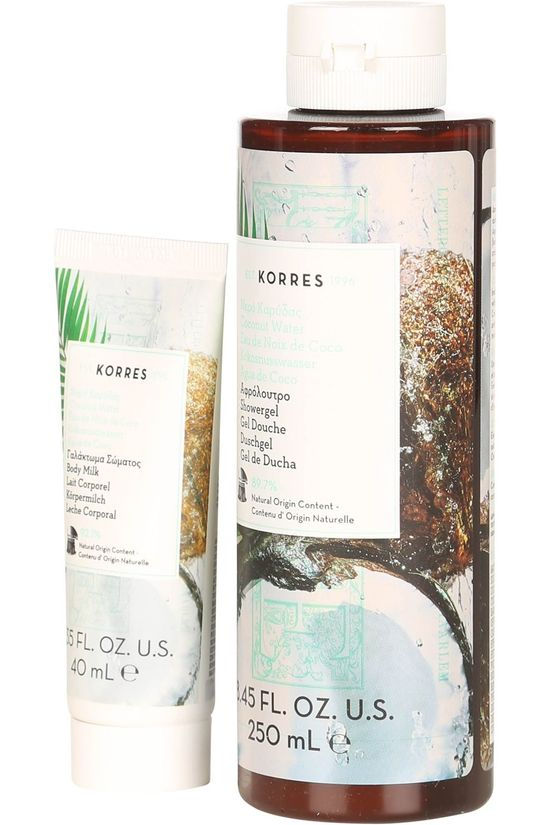Korres Gel Douche The Coconut Water Surprise Mixed Set Pas de couleur / Transparent