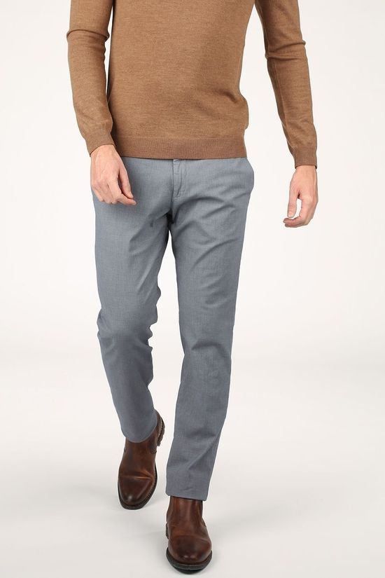 Four.Ten Pantalon T926 Gris Clair