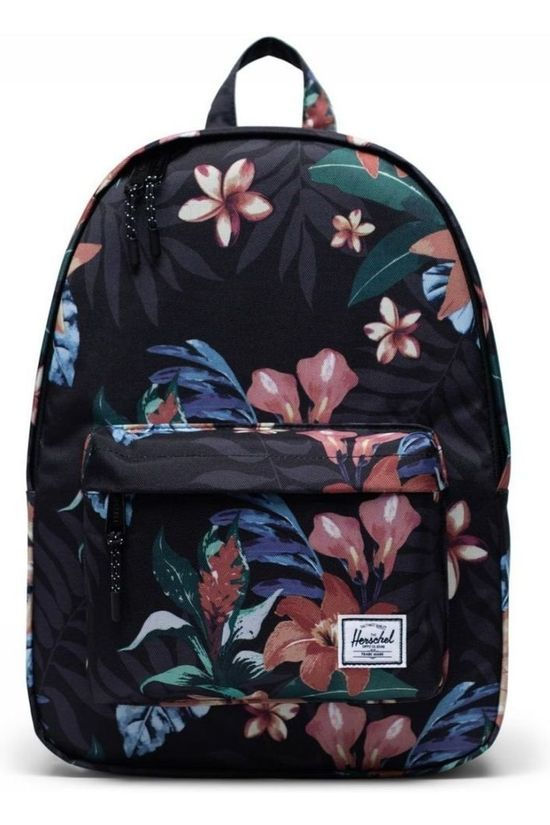 Herschel Supply Sac À Dos Classic Mid Volume 18 L Noir/Ass. Fleur
