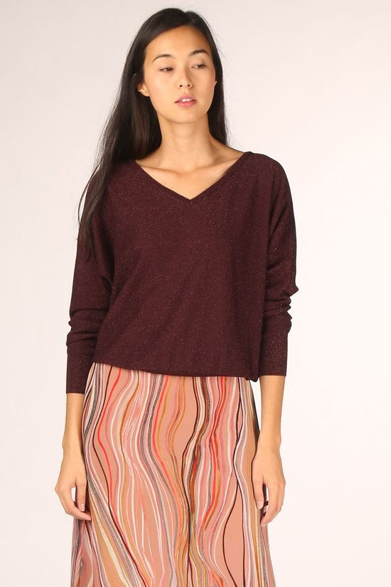Dame Blanche Pull Nigel 310 Bordeaux / Marron