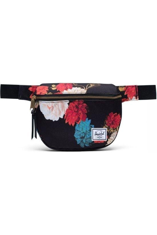 Herschel Supply Sac Banane Fifteen Noir/Assortiment Fleur