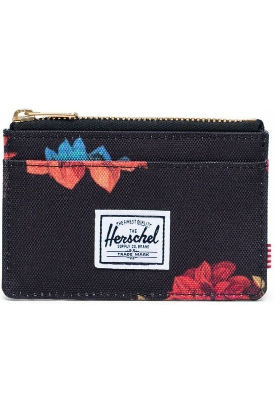 Herschel Supply Portefeuille  Oscar Noir/Ass. Fleur