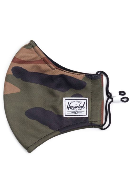 Herschel Supply Mondmasker Classic Fitted Face Mask Ass. Camouflage