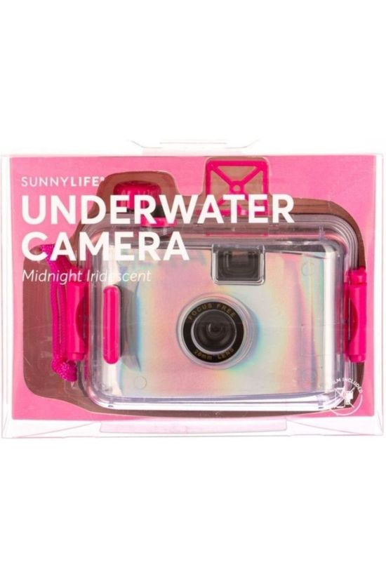 Sunnylife Fototoestel Underwater Camera Midnight Irridescent Middenroze/Lichtroze