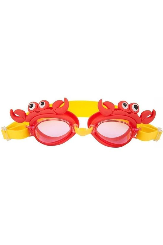 Sunnylife Jouets Shaped Swimming Goggles 3-9 Crabby Rouge/Bleu