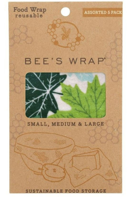 Bee's Wrap Gadget 3-Pack Assorted Forest Floor Geen kleur