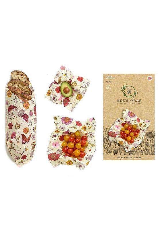 Bee's Wrap Gadget Pack Assorted Meadow Magic Vegan Geen kleur