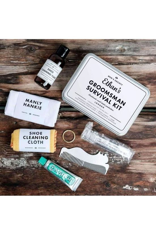 Men's Society Gadget Groomsman Survival Kit Wit