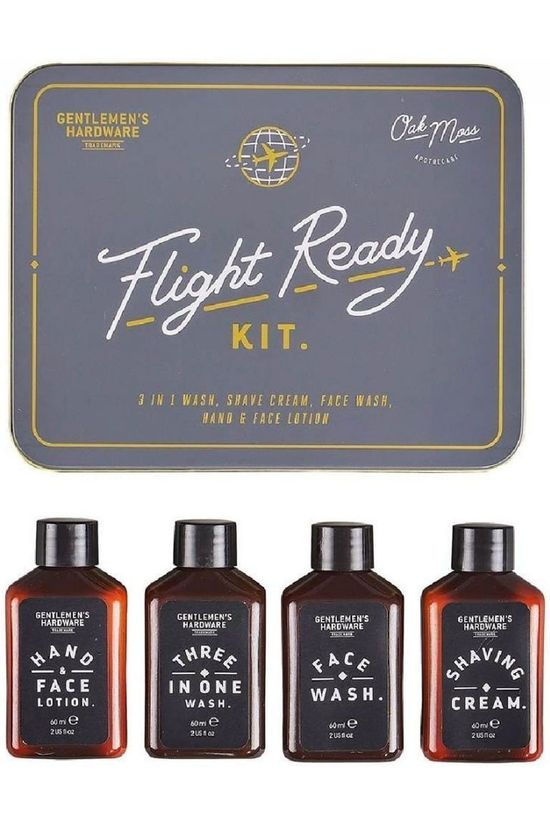 Gentlemen's Hardware Gadget Flight Ready Tin Middengrijs