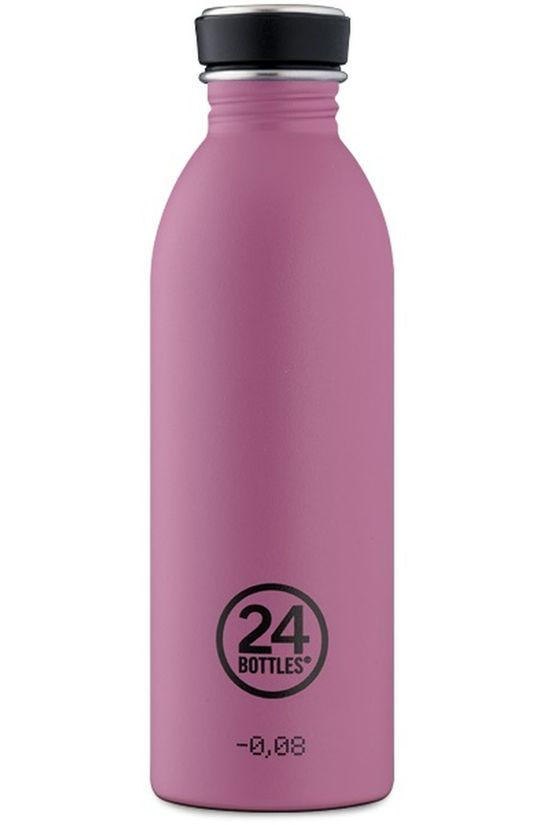 24Bottles Drinkfles Urban Bottle 500ml Donkerroze