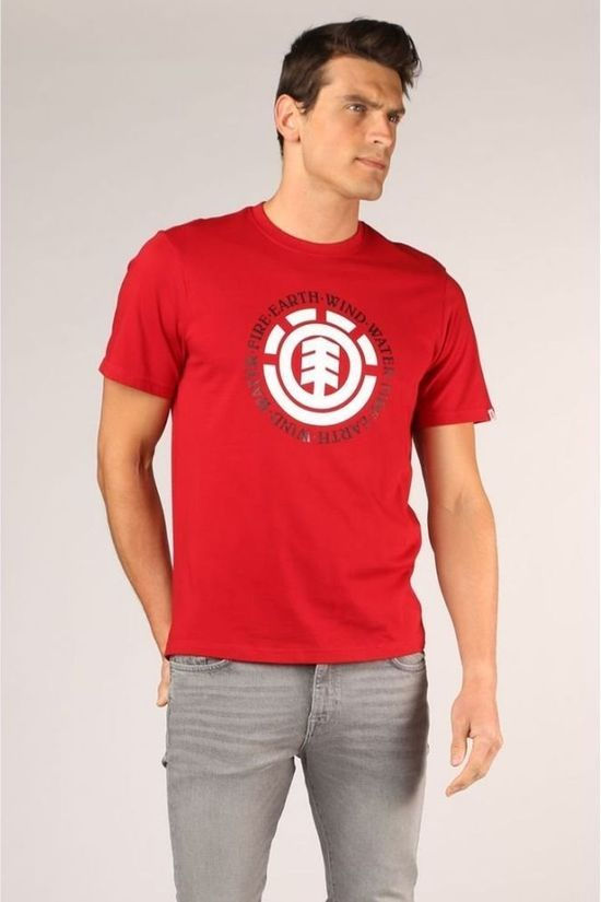 Element T-Shirt Seal Middenrood