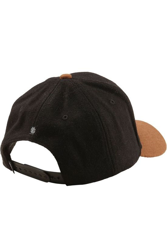 Element Casquette Tree Logo Cap Noir/Marron Chameau