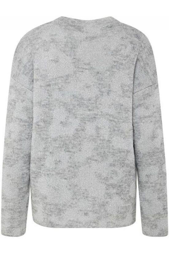 B.Young Pull Mikaela Pullover Gris Clair Mélange/Argent