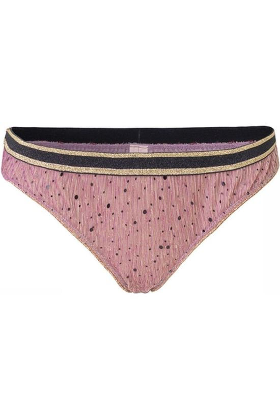 Becksöndergaard Sous-Vêtement Tallie Sequins Mesh Bottom Rose Clair/Or
