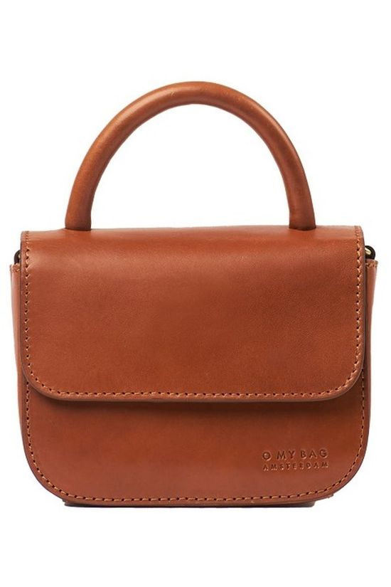 O My Bag Tas Nano Cognac Classic Leather Kameelbruin