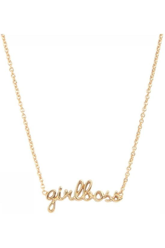 All The Luck In The World Collier Necklace Girlboss Or