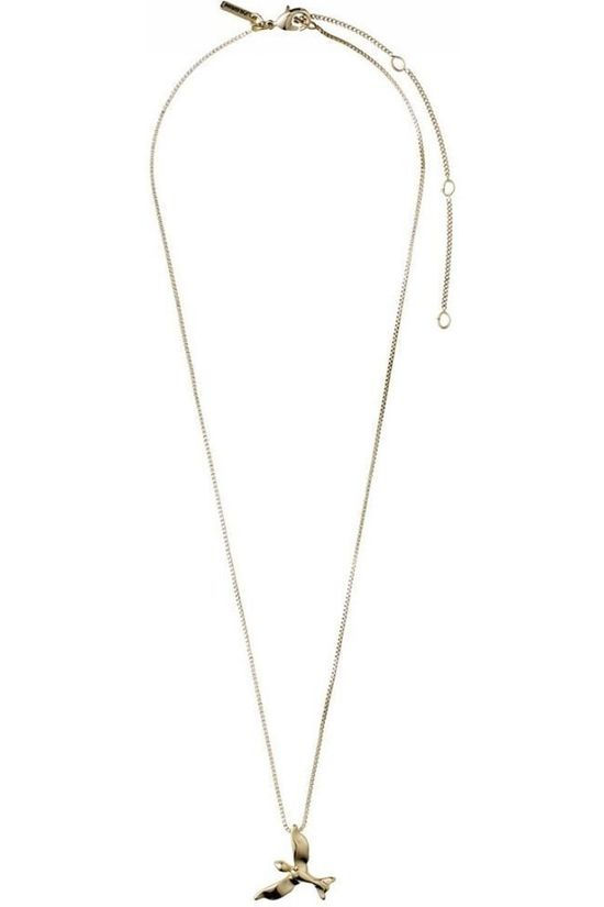 Pilgrim Collier Air 40+90Cm Gold Plated Or