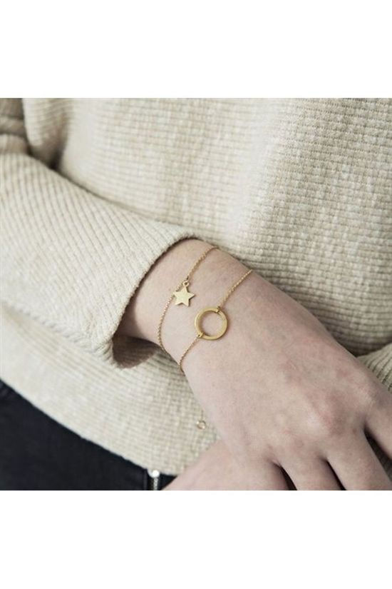 Timi Bracelet Small Circle Or