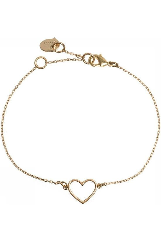 Timi Bracelet Heart Outlined Or