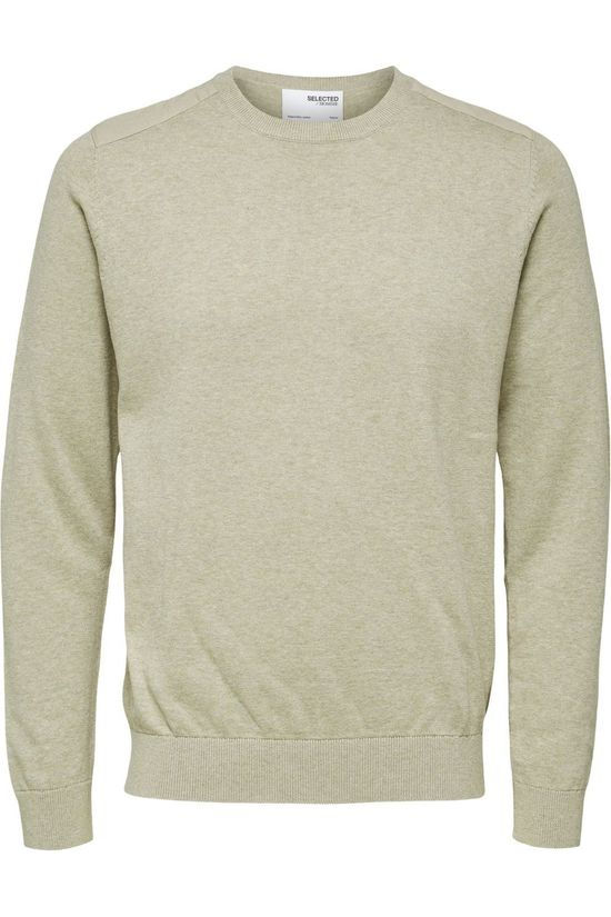Selected Pull Slhkeston Crew Neck W Brun Sable