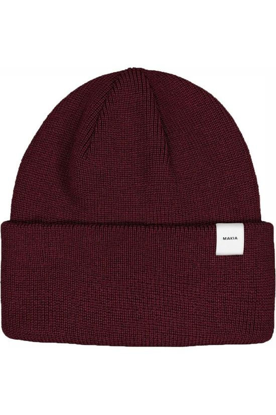 Makia Bonnet Thin Bordeaux / Marron