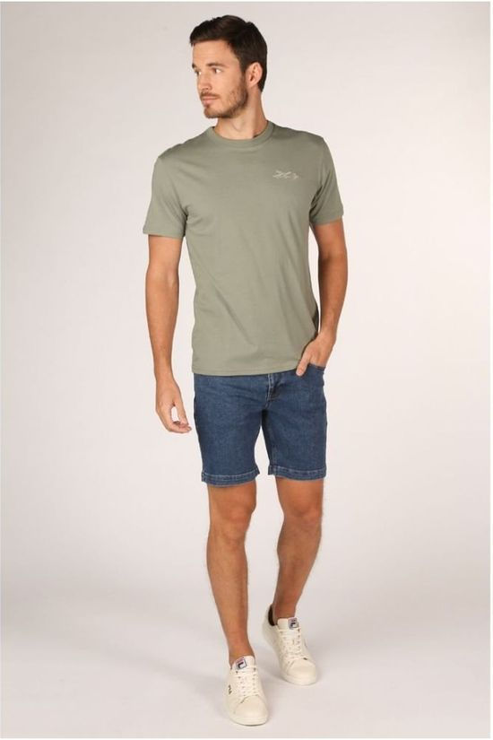 Minimum Short Sanden Middenblauw (Jeans)