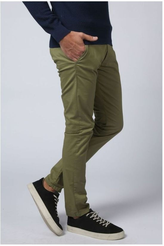 Selected Pantalon Shhyard Kaki Moyen