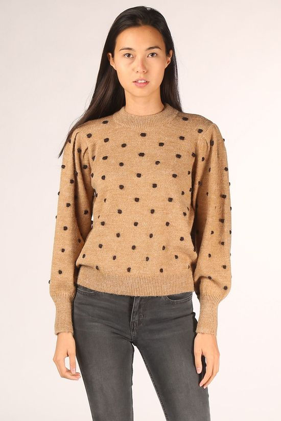 Object Pull laurie L/S Brun Sable