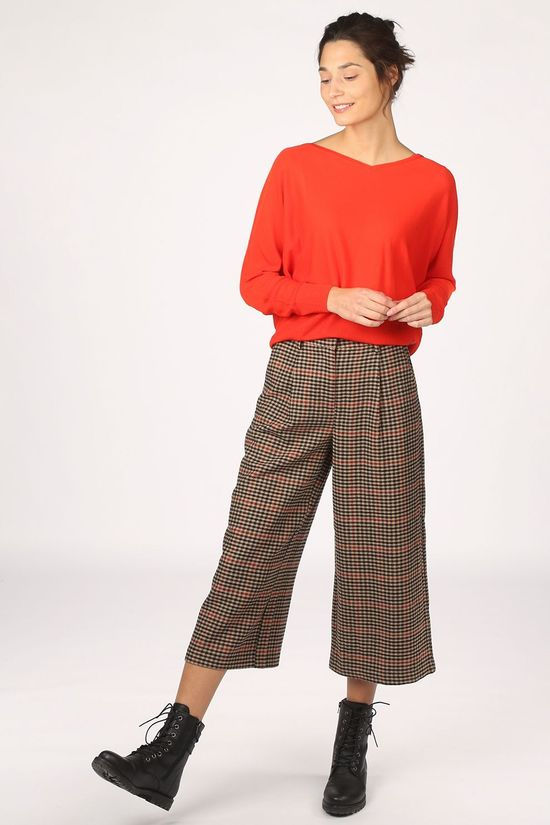Object Pantalon hollis Mw Brun Sable/Rouge