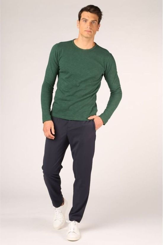 Selected Pantalon Slhslim Tapered Pete Bleu Foncé