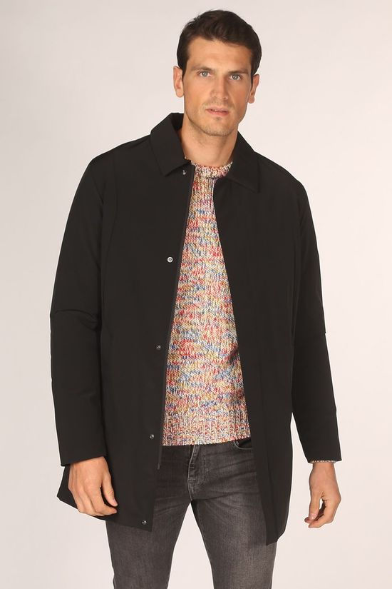 Selected Jas connor Car Coat B Zwart