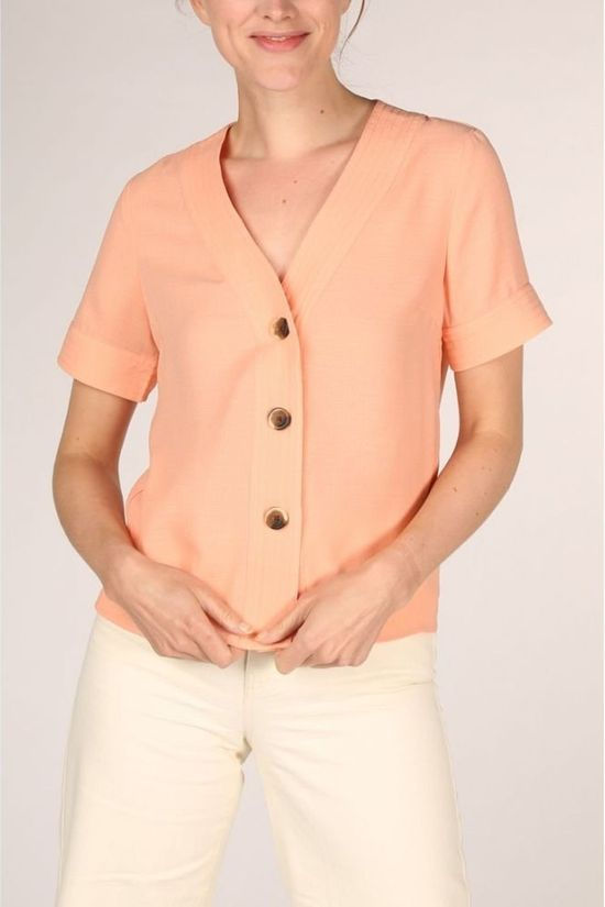 Yas Blouse Marion 2/4 Rose Saumon