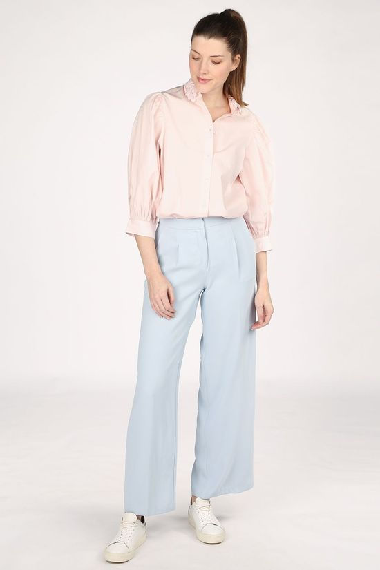 Selected Blouse Slfromance 3/4 Puff Sleeve Rose Clair