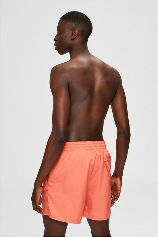 Selected Short De Bain Slhnewcolour Orange