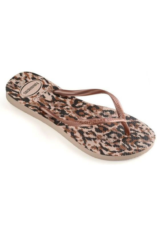 Havaianas Slipper Slim Animals Lichtroze