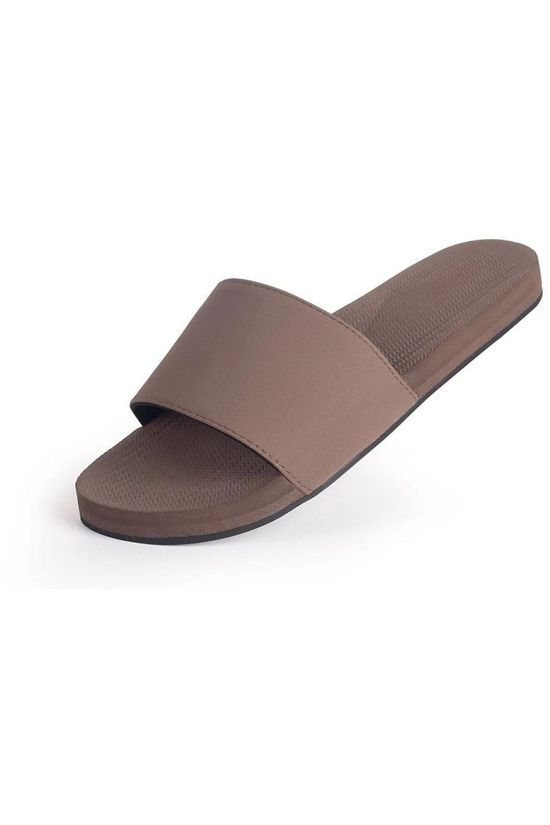 Indosole Slipper Slide Middenbruin