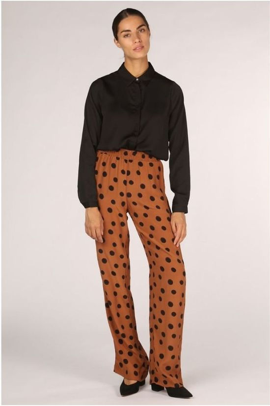 Catwalk Junkie Pantalon Tr Spot On Rouille/Noir