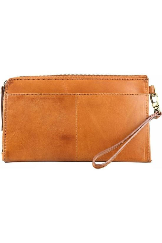 O My Bag Travel Wallet Marron Chameau