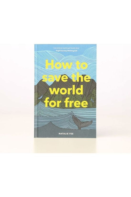 Laurence King Livre How To Save The World For Free Pas de couleur / Transparent