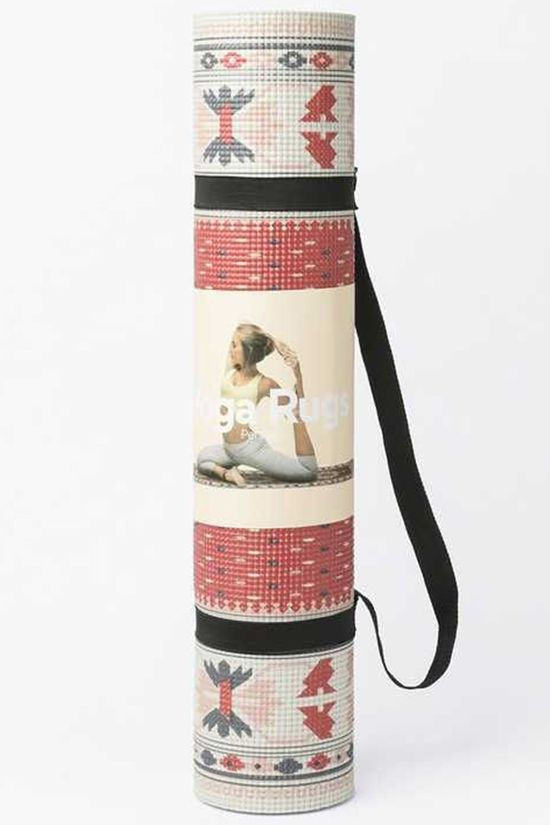Doiy Yoga Mat Persian Middenrood/Middenblauw