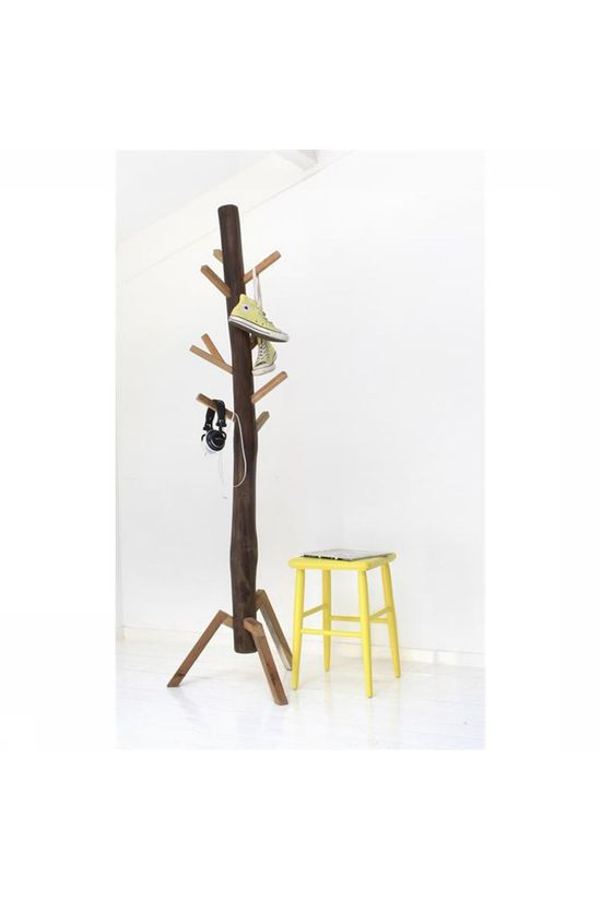 HK Living Portemanteau Coat Rack Teak Pas de couleur / Transparent