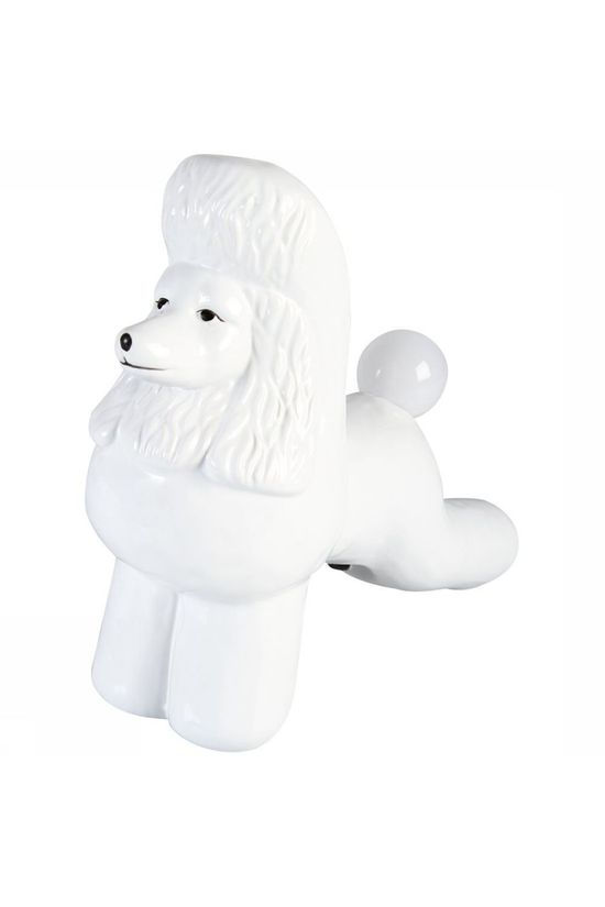 &KLEVERING Lampe De Table Lamp Poodle Blanc