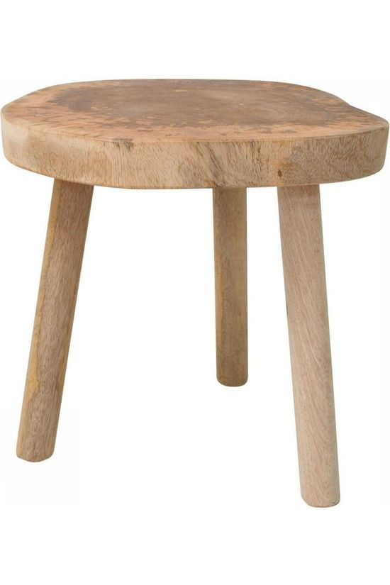 HK Living Tree Table Natural Geen kleur / Transparant