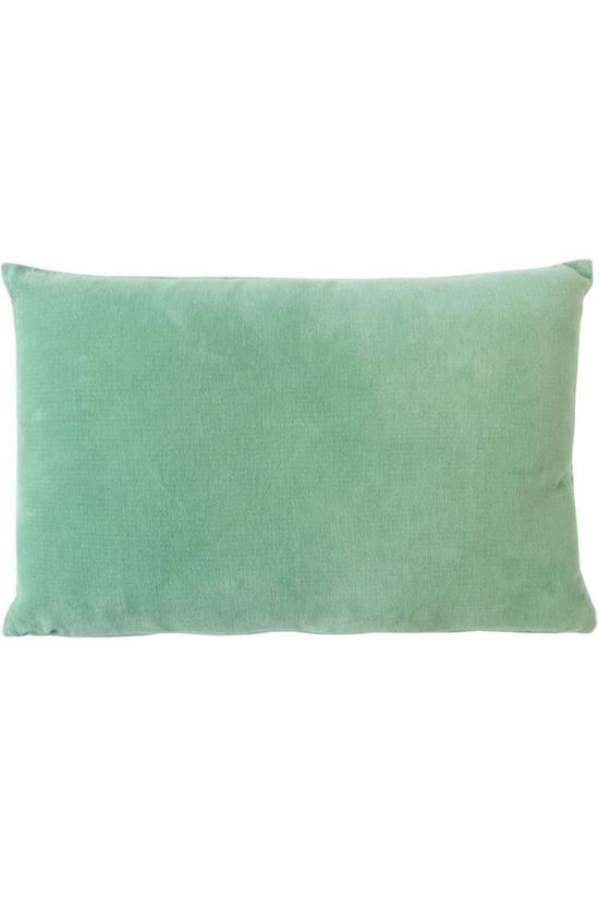 Urban Nature Culture Coussin Vintage Velvet Malachite Green Pas de couleur / Transparent